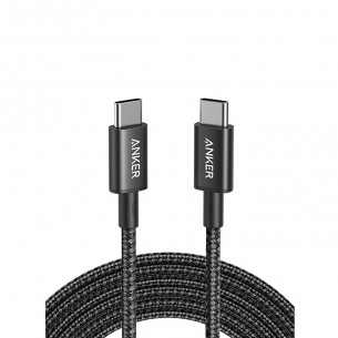 Anker 100W Nylon Type-C to Type-C Cable 10FT/3M - Black