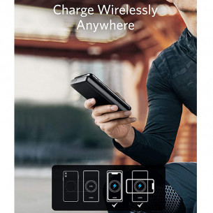 Anker PowerCore III 10.000mAh Wireless Charger with Qi-Certified 10W & 18W USB-C