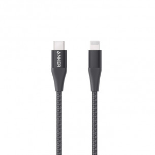 Anker PowerLine+ II Type-C to Lightning Cable 3FT/0.9M - Black