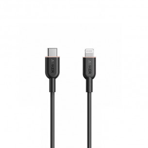 Anker PowerLine III Flow Type-C to Lightning Cable 3FT/0.9M - Black