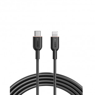 Anker PowerLine III Flow Type-C to Lightning Cable 6FT/1.8M - Black