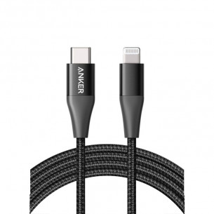 Anker PowerLine+ II Type-C to Lightning Cable 6FT/1.8M - Black