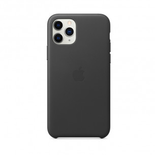 Leather Case for iPhone 11 Pro Max Black