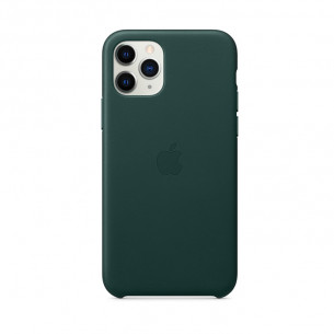 Leather Case for iPhone 11 Pro Max Forest Green