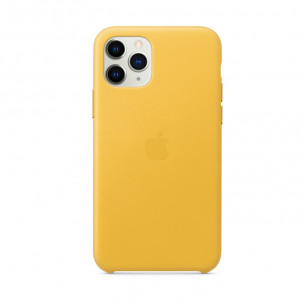 Leather Case for iPhone 11 Pro Max Meyer Lemon