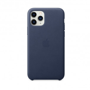 Leather Case for iPhone 11 Pro Max Midnight Blue