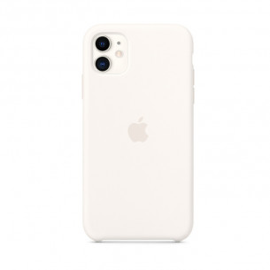 Silicone Case for iPhone 11 White