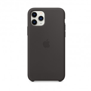 Silicone Case for iPhone 11 Pro Max Black