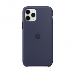 Silicone Case for iPhone 11 Pro Max Midnight Blue