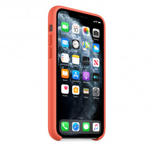 Silicone Case for iPhone 11 Pro Max Clementine Orange