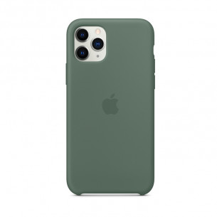 Silicone Case for iPhone 11 Pro Max Pine Green