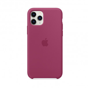 Silicone Case for iPhone 11 Pro Pomegranate
