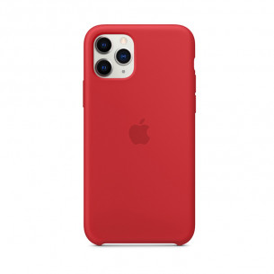 Silicone Case for iPhone 11 Pro Max Red