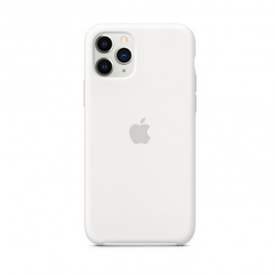 Silicone Case for iPhone 11 Pro Max White